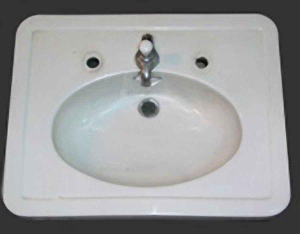 Porcelain Crane Sink Top