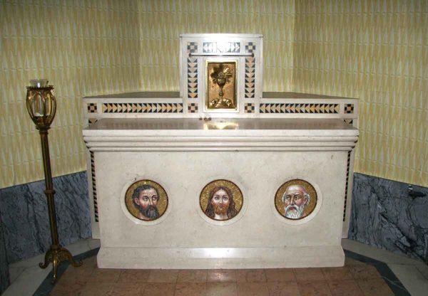 Carved Marble Altar