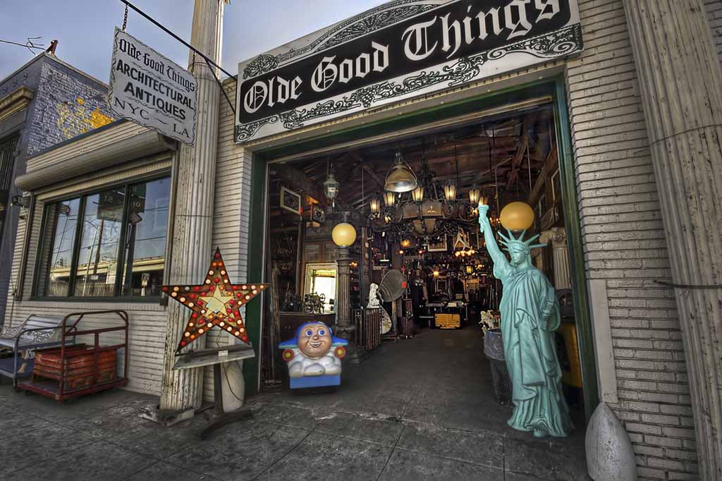 Grand Ave Los Angeles Olde Good Things