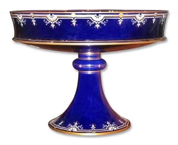 1890 Porcelain Sevres Tazza with Gilt & Enamel