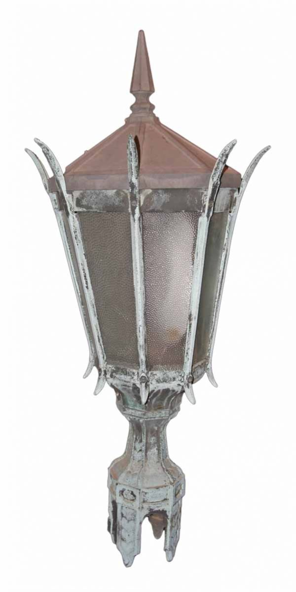 Bronze Street Light Top