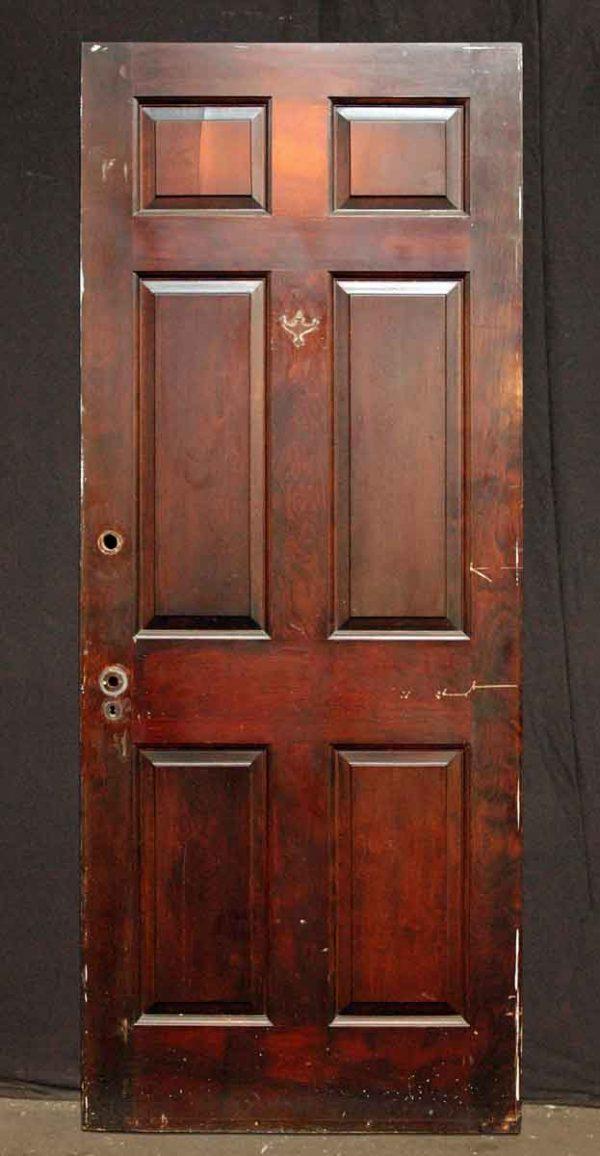 Six Panel Walnut Door