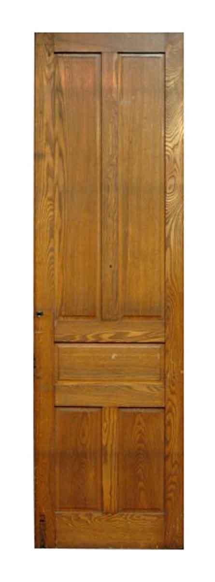 Tall Five Panel Chestnut Door