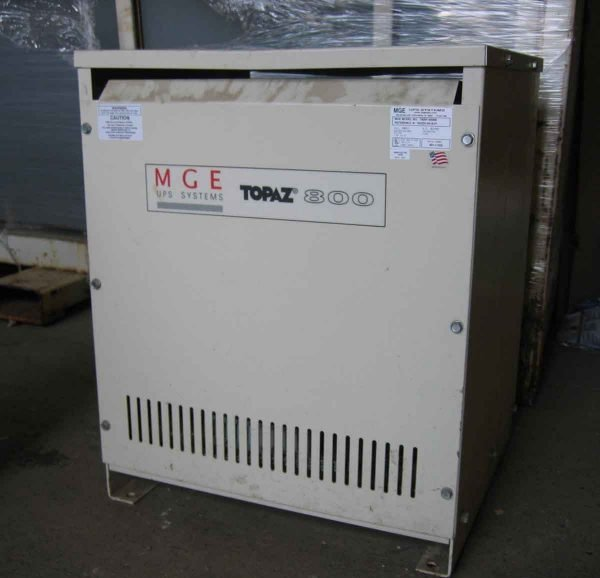 Mge Topaz 800 Power Conditioner Model No. T800f-05000