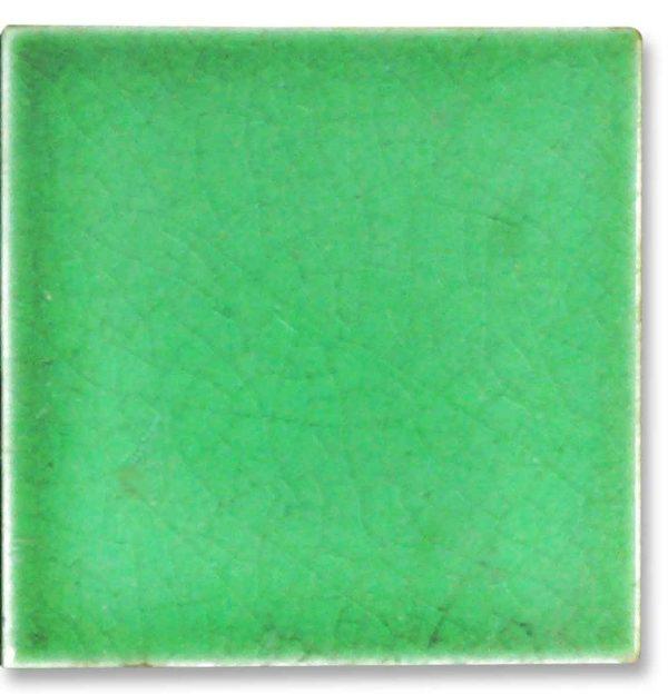 Small 3 X 3 Aqua Green Tile
