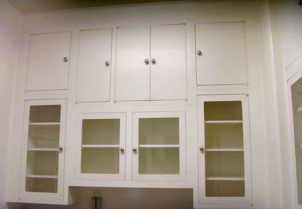 Entire Kitchen Cabinet Set from 1930s