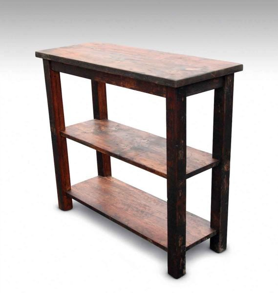Rustic Pine Serving Table Or Console Olde Good Things