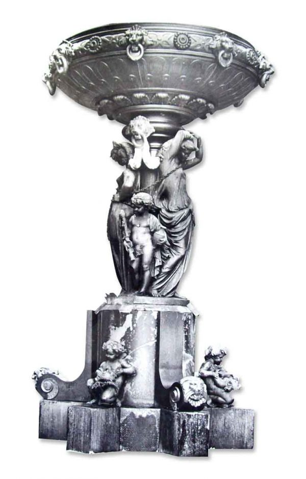 Spectacular Fountain from Fairmount Park in Philadelphia