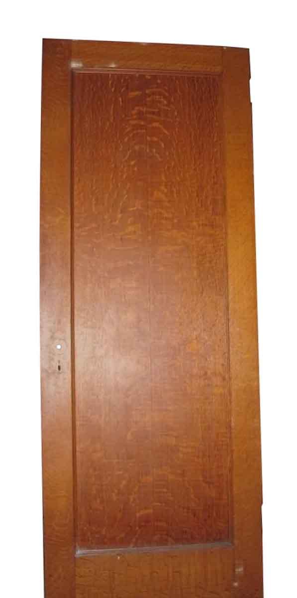 Single Panel Tiger Oak Door