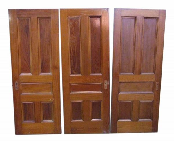 Five Panel Chestnut Doors