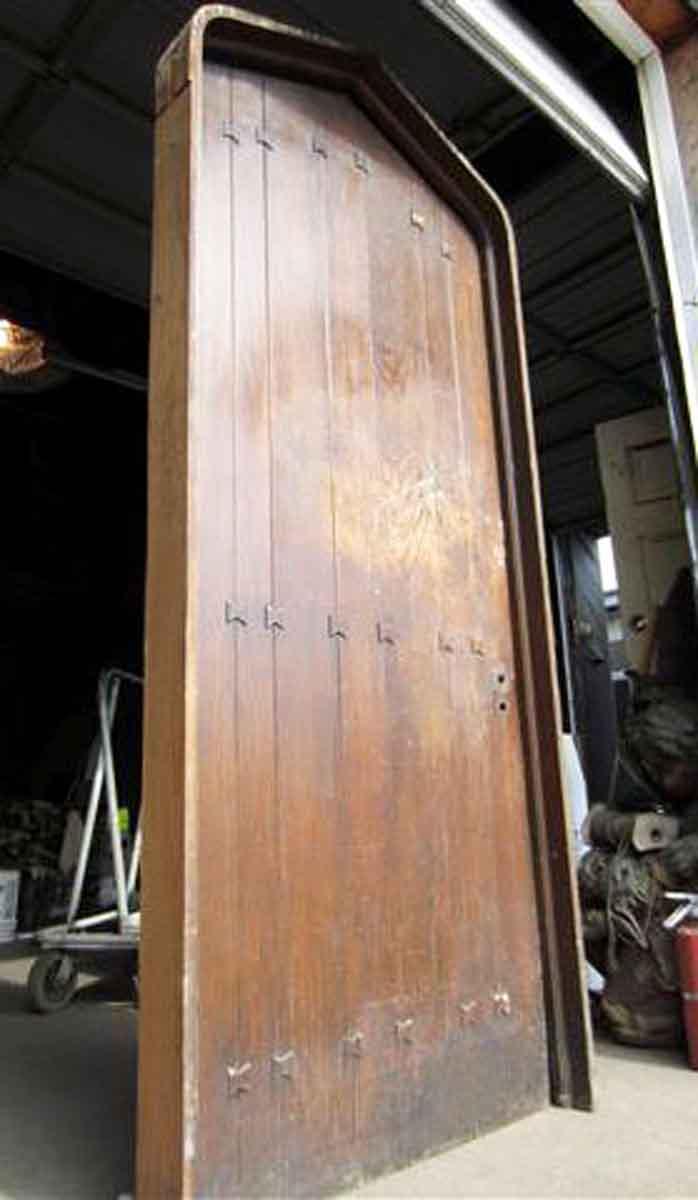 Oak Tudor Style Door With Frame Olde Good Things