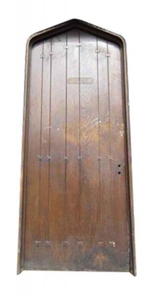 Oak Tudor Style Door with Frame