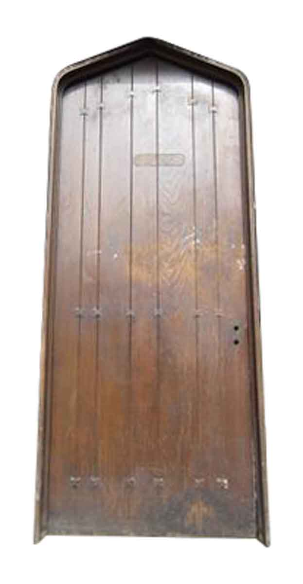 Oak Tudor Style Door with Frame
