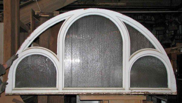 Large Gothic Glass Transom