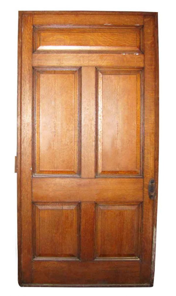 Wide Oak Pocket Door