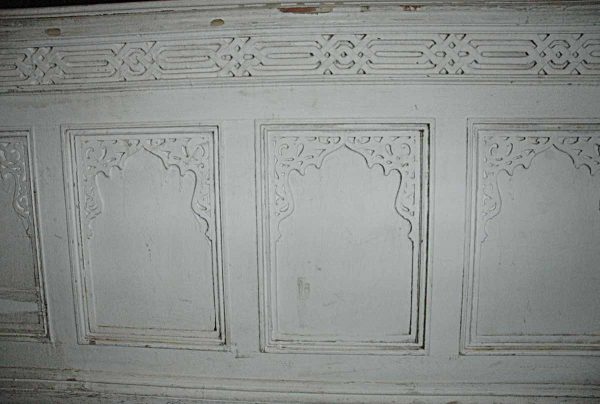 Moorish Chair Height Wainscoting Or Wall Paneling