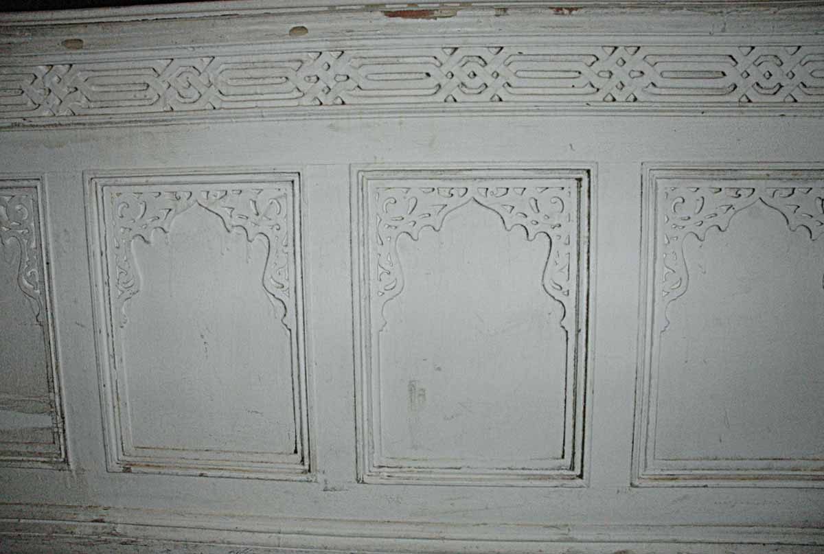 Moorish Chair Height Wainscoting Or Wall Paneling Olde