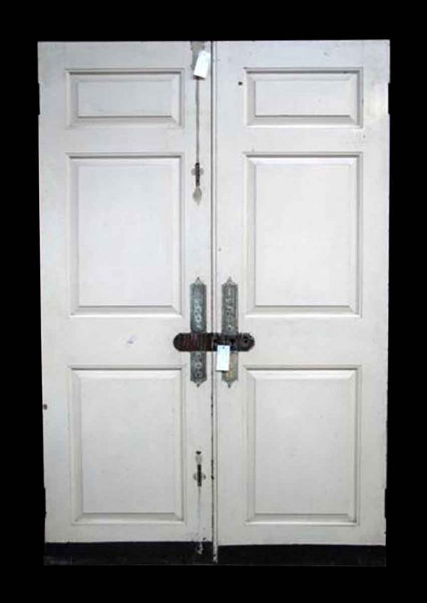 Set of Mahogany Entrance Doors
