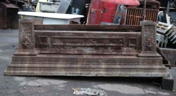 Cast Iron Building Lintels with Stars