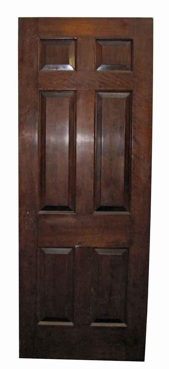 Raised Panel Mahogany Doors