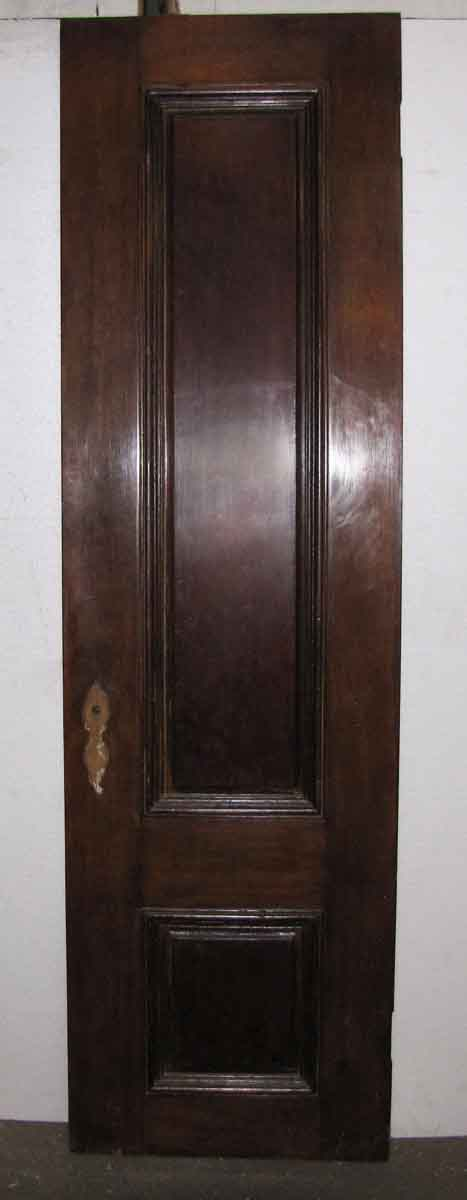 Narrow Mahogany Raised Panel Door Olde Good Things