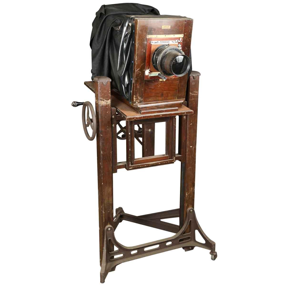 Antique Camera & Base