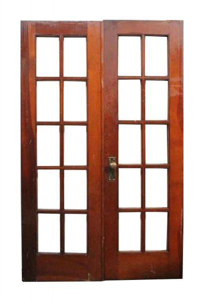 Pair of Original Finish French Doors