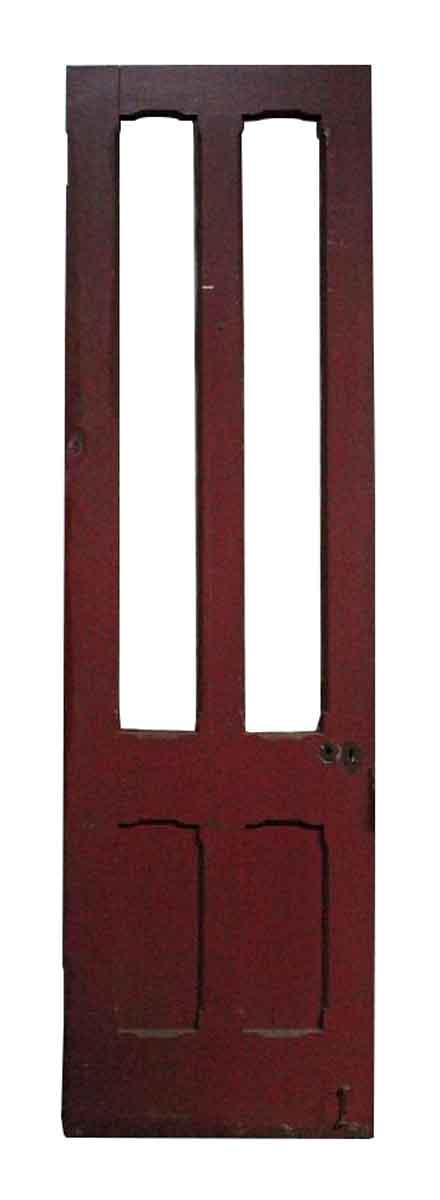 Two Lite Double Panel Victorian Door