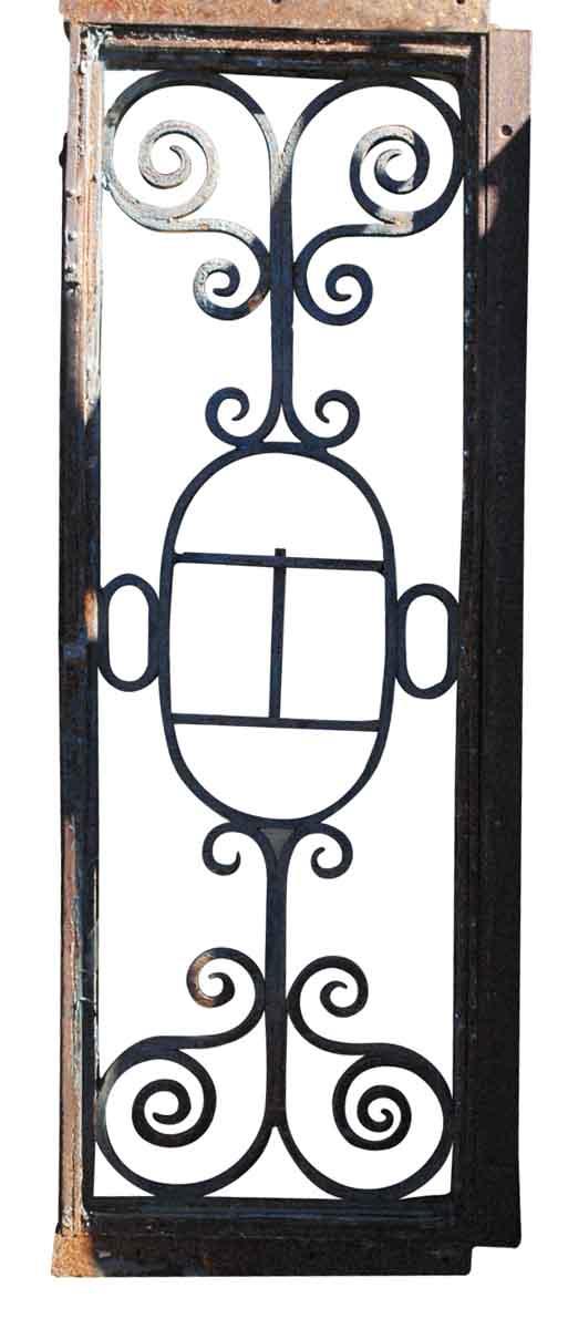 Wrought Iron Door Transom Window