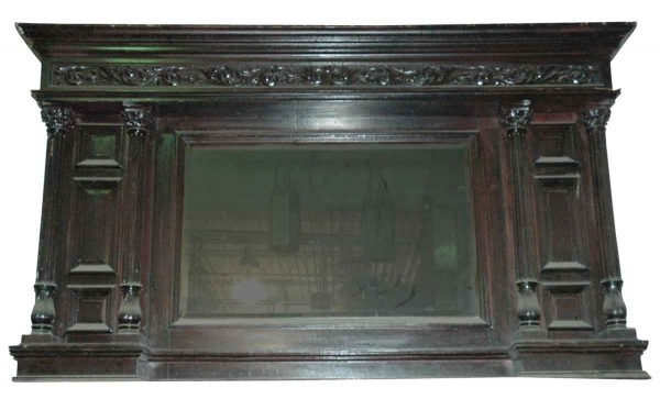 Carved Overmantel
