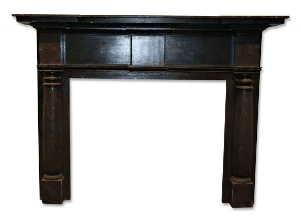 Antique American Federal Style Wooden Mantel