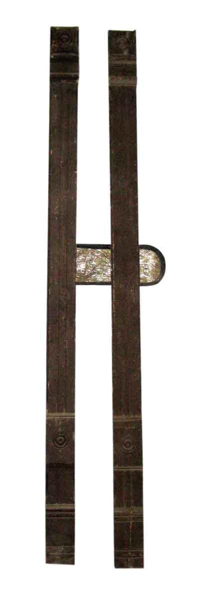 Antique Oak Pilasters