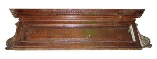Tiger Oak Pediments