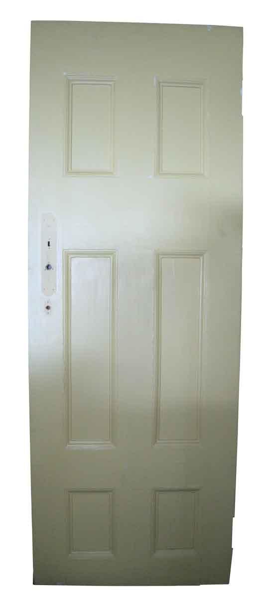 Simple Recessed Panel Pine Door