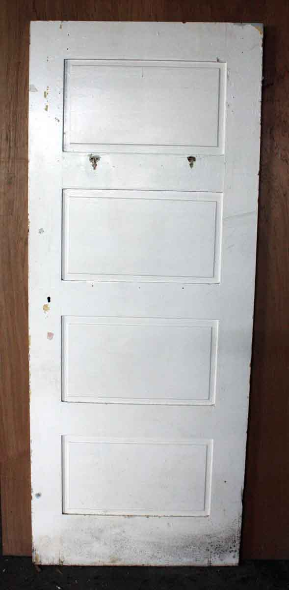 4 Panel Interior Doors : Four panel antique solid wood interior door olde good things