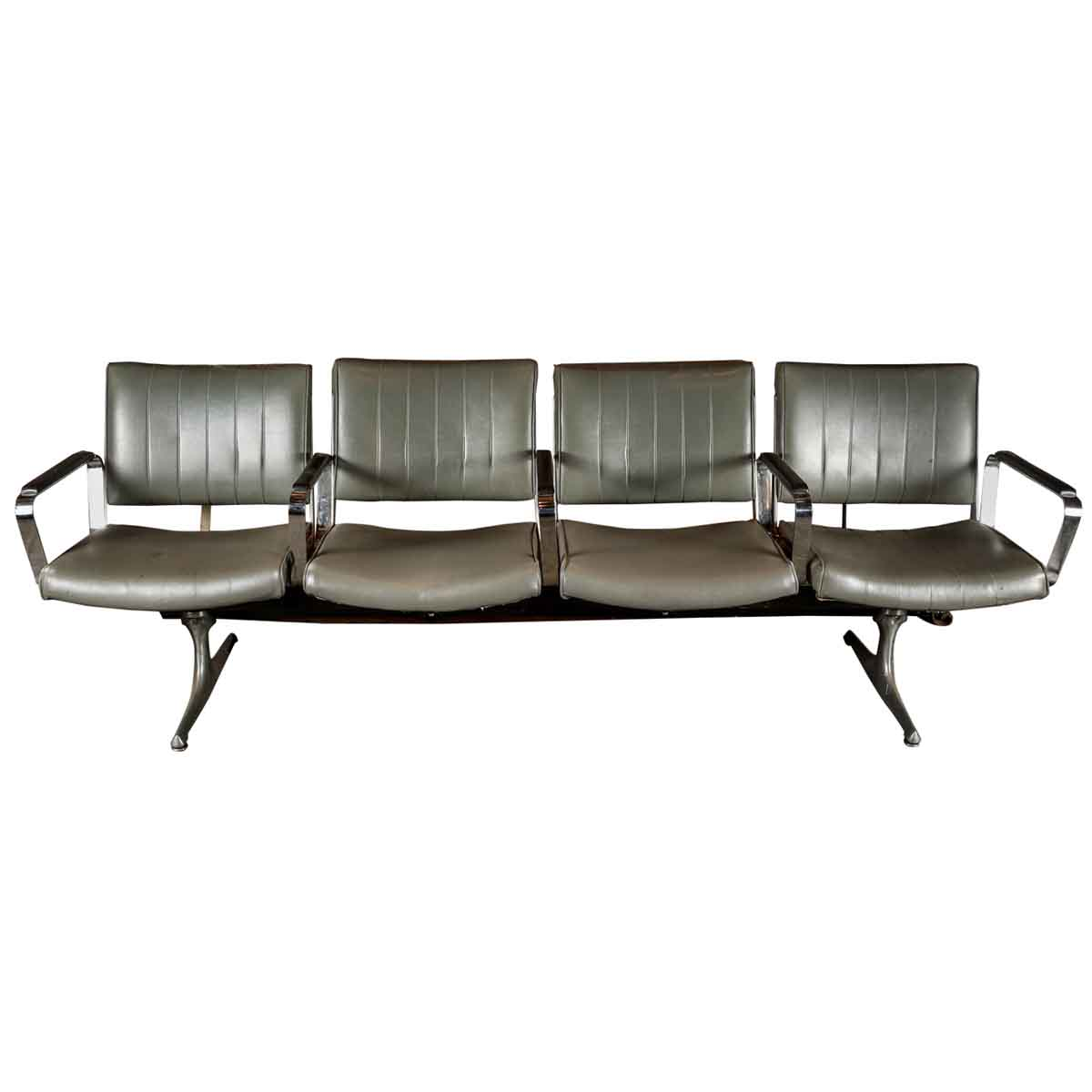 Well-liked Set of Four Retro Style Airport Waiting Area Chairs | Olde Good Things NW42