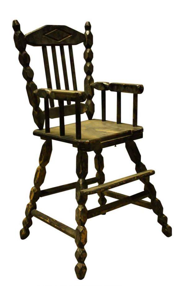 Wooden High Chair