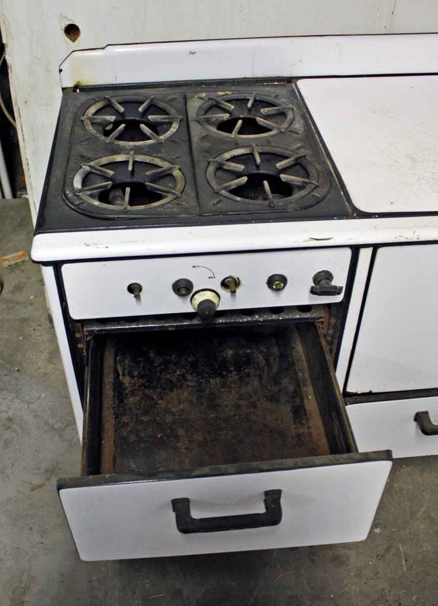 Old Ceramic Prosperity Gas Stove Olde Good Things
