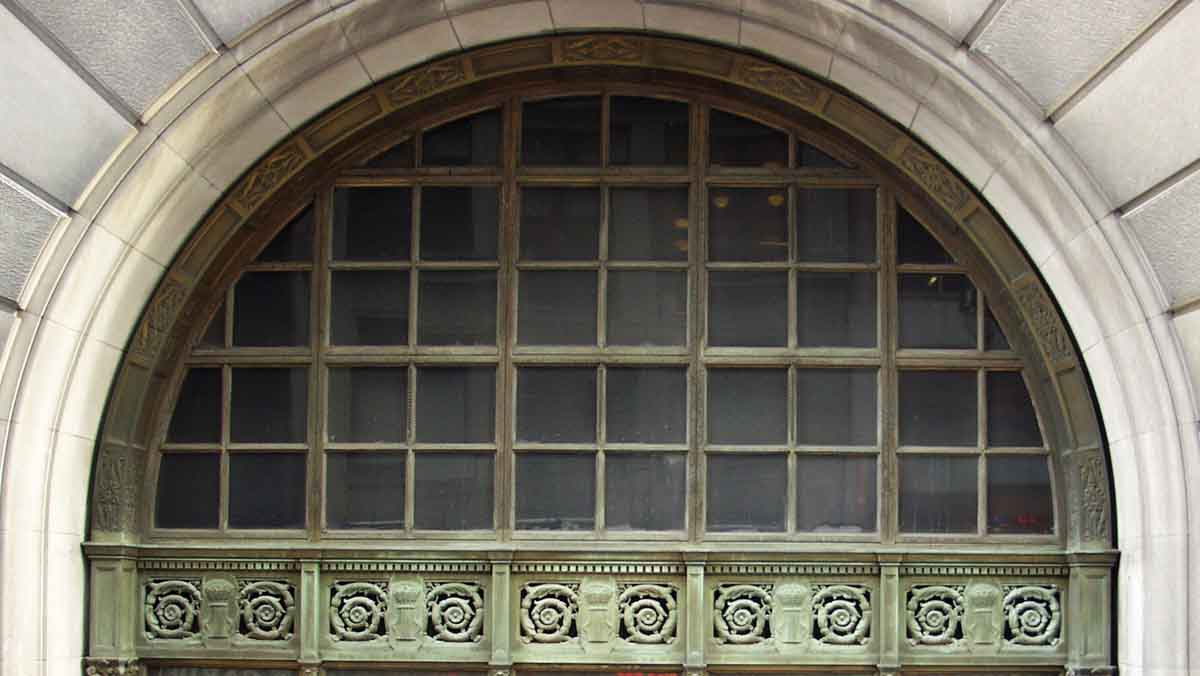 Transom Windows A Useful Design Element: Huge Ornate Bronze Palladian Window Transom