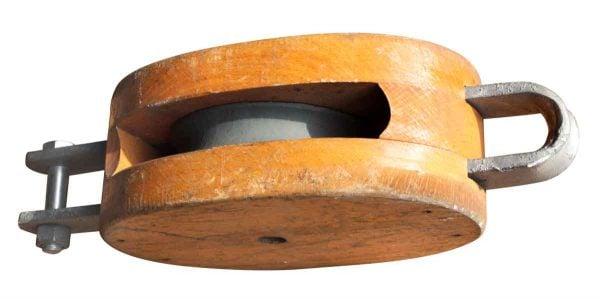Wood & Metal Pulley