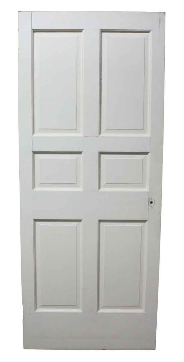 Six Panel Interior White Door
