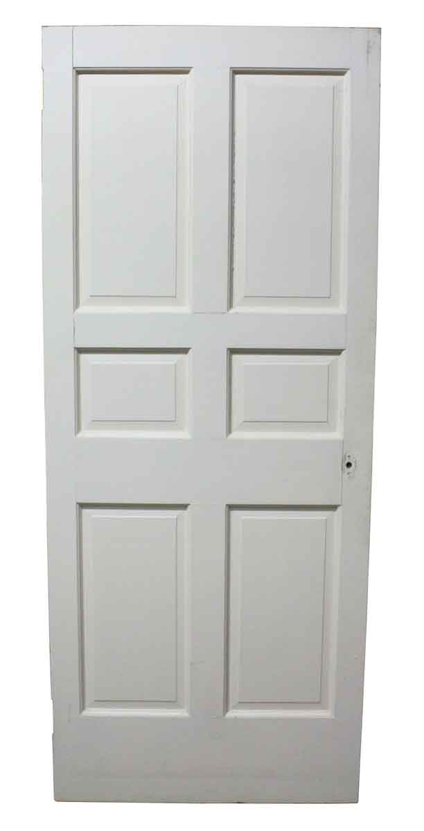 Six Panel Interior White Door Olde Good Things