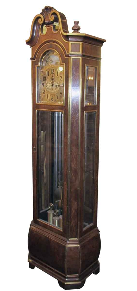 Herschede Tall Case Grandfather Clock