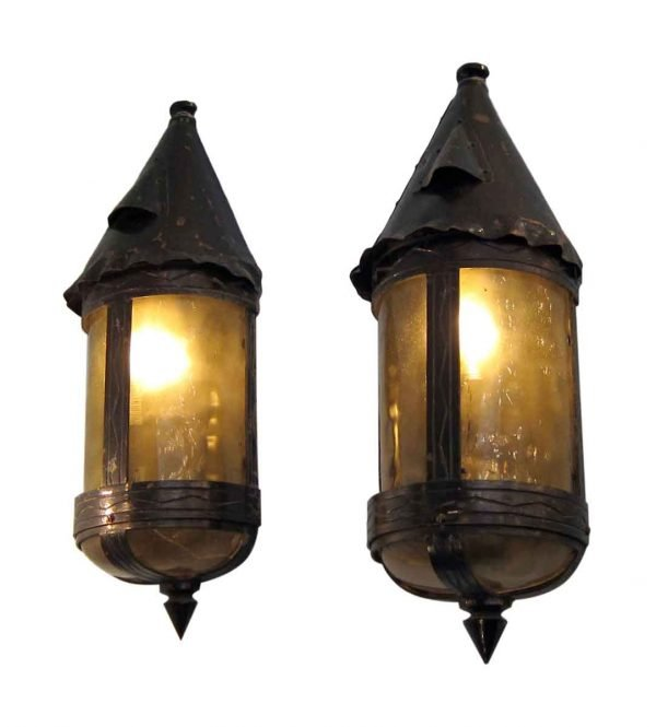 Arts & Crafts Bronze & Copper Sconces