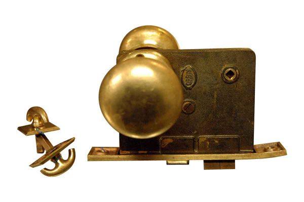 Complete Corbin Brass Knob Passage Sets