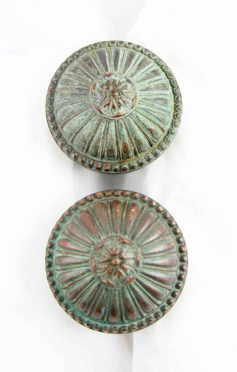 Solid Bronze Greek Doorknob