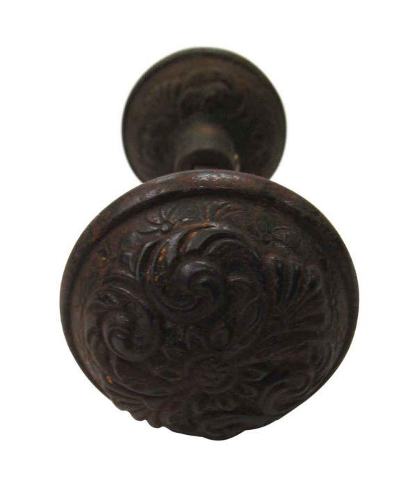 Victorian Iron Knob Set
