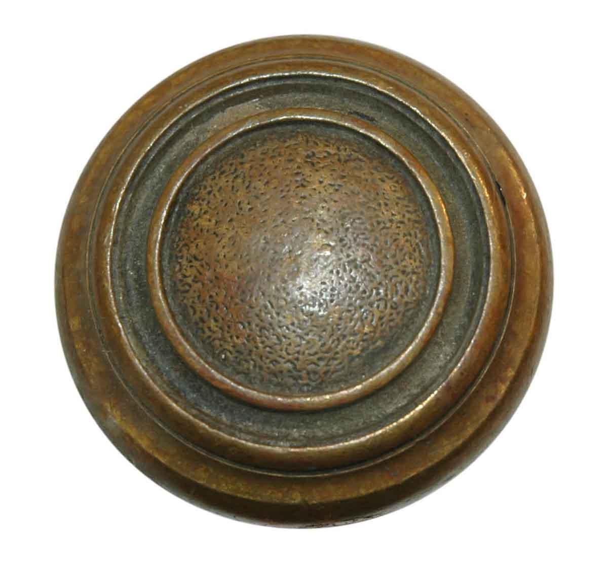 Cast Bronze Concentric Circle Door Knobs