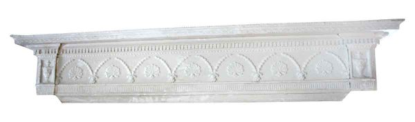 Antique Ornately Carved Wooden Pediments
