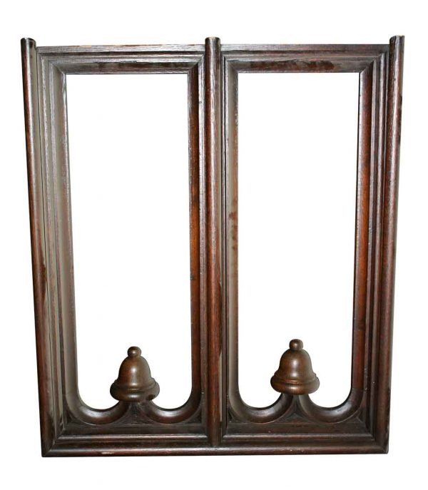 Carved Wood Wall Divider Element
